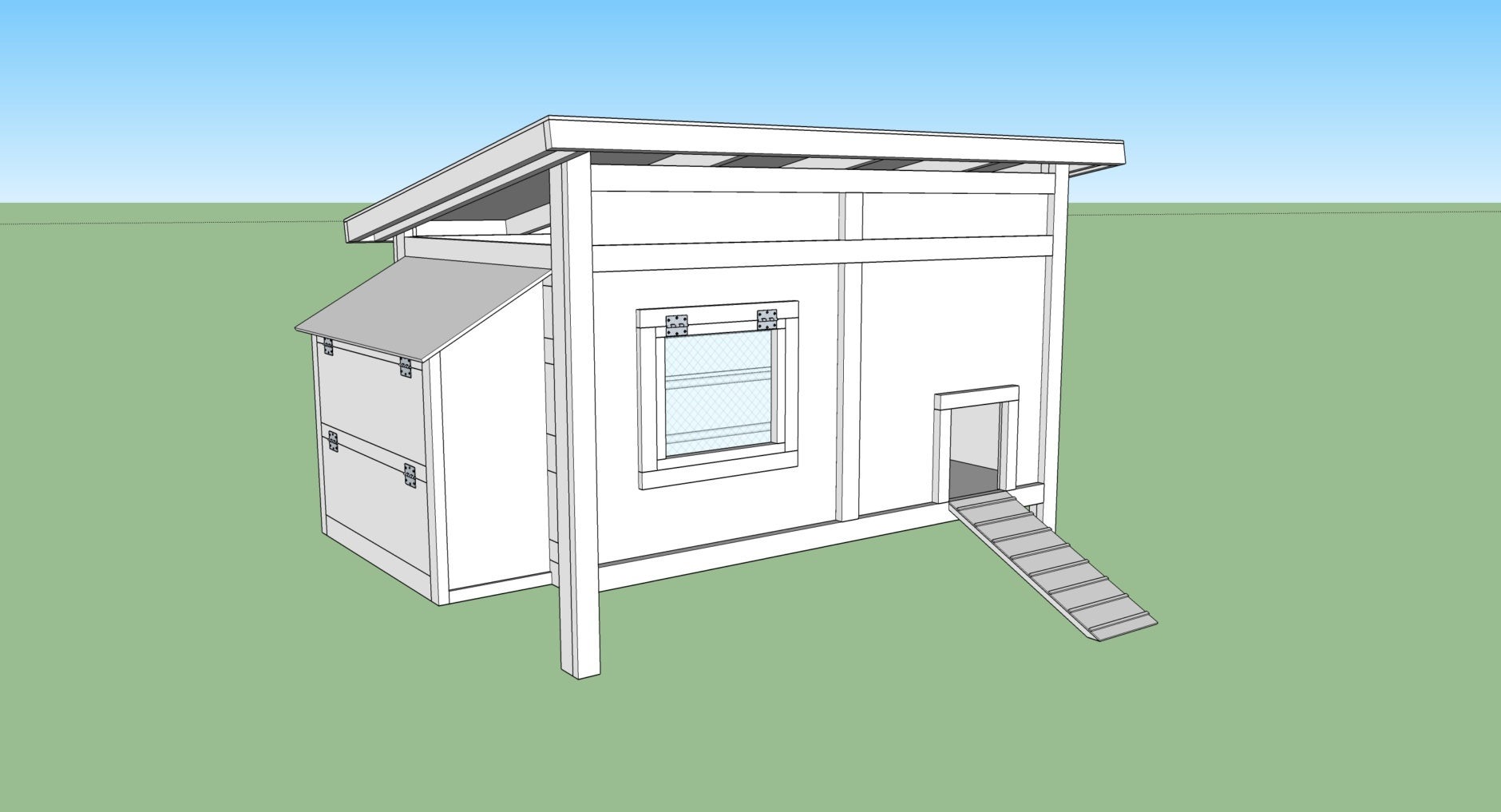 Designing A Chicken Coop Diy Hobby Farm